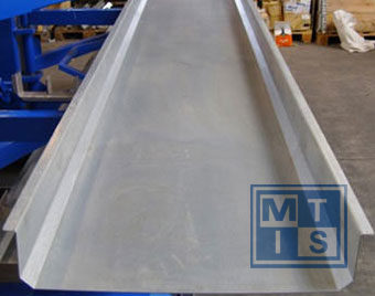 Ablagefach für Schwenkarm-Regal 3000 mm