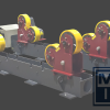8000 kg Rollenbock selbstjustierend