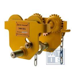 Ketten Laufkatze Delta Yellow, 1.000kg