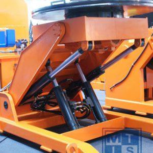 1000 kg hydraulischer Schweißdrehtisch TLP-HE-10 Top Line