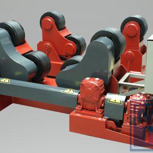 60000 kg Rollenbock TOP LINE TLRS-60 (1 Angetrieben + 3 Mitläufer)
