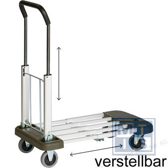 Alu. Trolley, faltbar Matador, 150kg