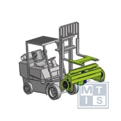 Giromatic Drehvorrichtung GPMM-25-250, 25.000kg, 2.500mm
