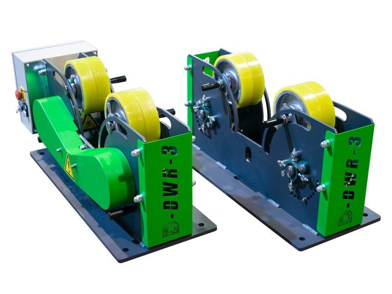3000 kg Rollenböcke DWR-3 1