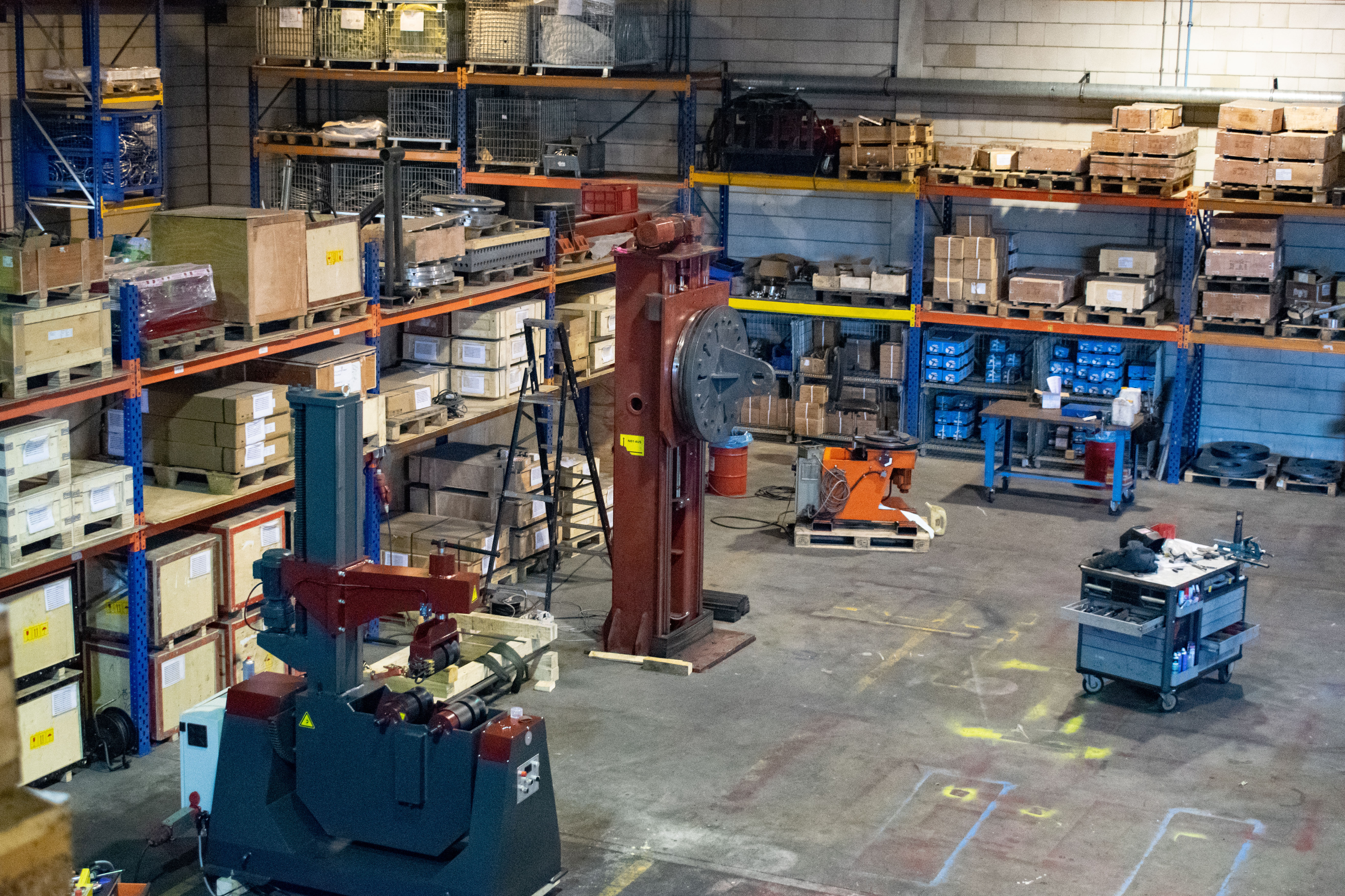 MTindustry Werkstatt Lager